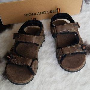 Size 10 Little Boys Sport Sandals Highland Creek